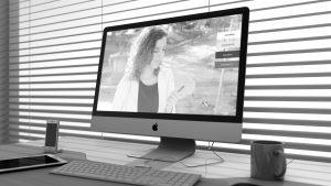 Diseño de página web para directora de orquesta