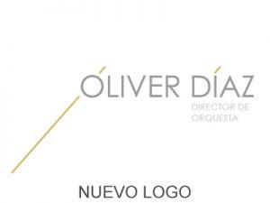 Logo del director de orquesta Óliver Díaz
