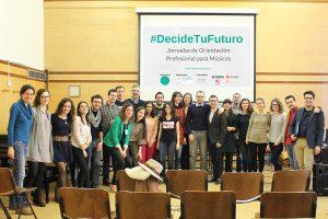 #DecideTuFuturo talleres de formación para músicos organizados por Innova Música
