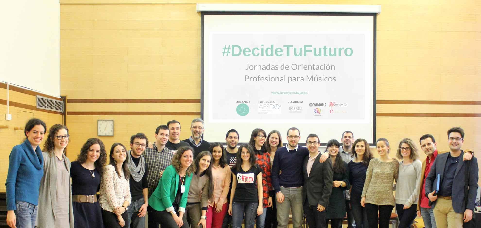 Decide tu futuro - Real Conservatorio Superior de Música de Madrid