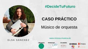 Cómo ser músico de orquesta, por la violinista Elsa Sánchez