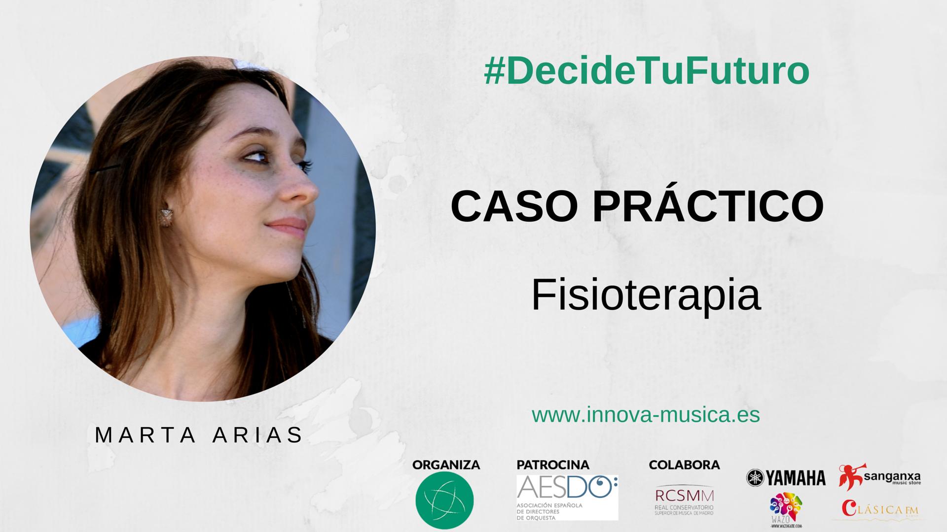 Fisioterapia para músicos por Marta Arias