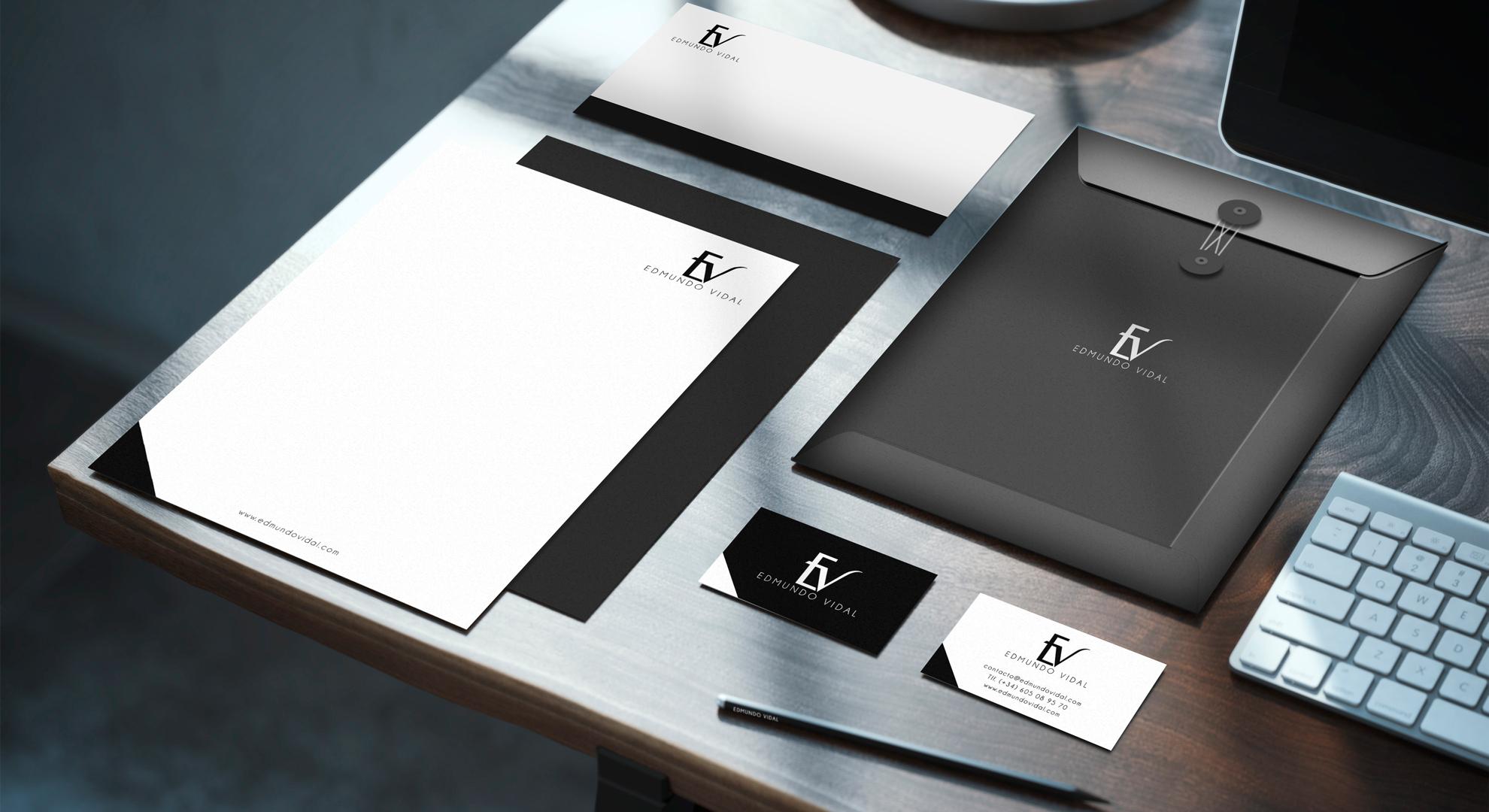 Branding para artistas. Portfolio de Edmundo Vidal, director de orquesta