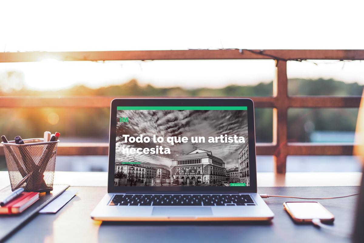 Innova Música diseña páginas web para artistas