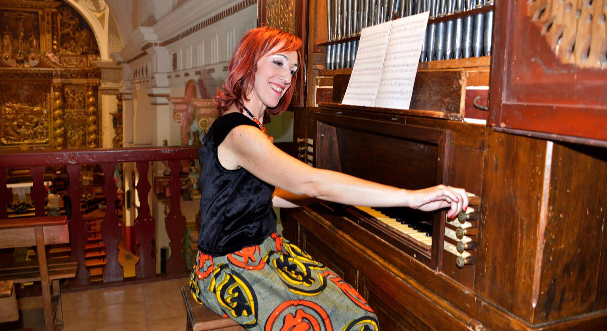La clavecinista Pilar Montoya lleva la música antigua española a Italia y Japón